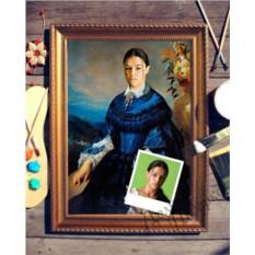 Портрет по фото Баронесса