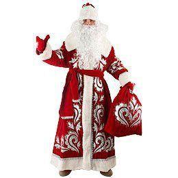 Костюм Деда Мороза «Боярский» (бархат с вышивкой)