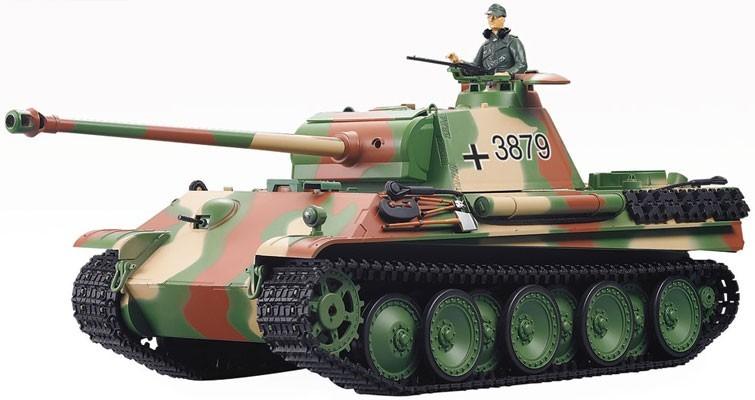 Радиоуправляемый танк Heng Long Panter Type G 3879-1 с дымом