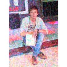 Портрет по фото под масло на холсте