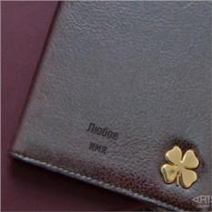 Бумажник для документов Счастливый клевер
