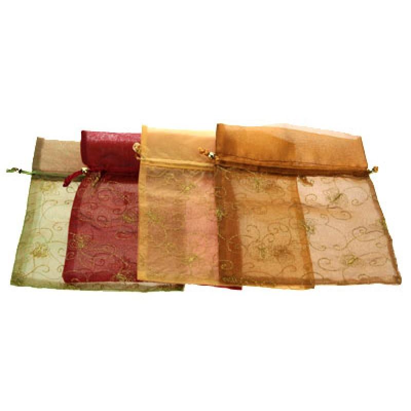 Подарочный мешочек на затяжках в ассортименте