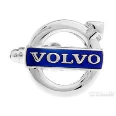 Запонки Volvo в именной коробке с гравировкой