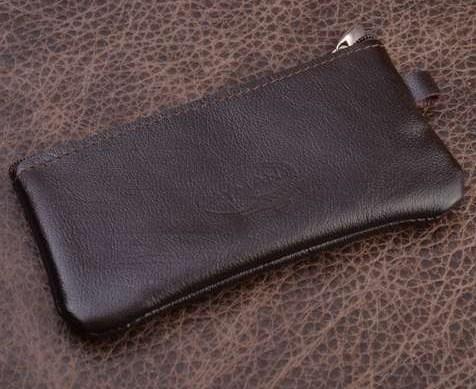 Ключница. Коллекция Eclat (коричневый; нат. кожа)