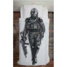 Постельное белье 3D для мальчиков Солдат