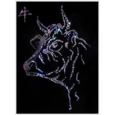 Картина Swarovski Символ года Бык