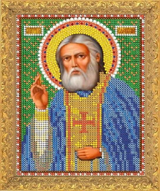 Набор для вышивания бисером Святой Серафим Саровский