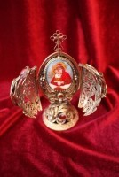 Яйцо Филигрань Икона Божией Матери Донской