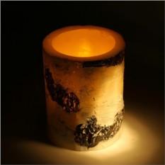 Свеча светодиодная восковая Березка