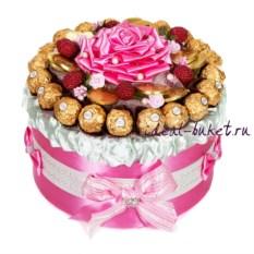 Торт-шкатулка Малиновый