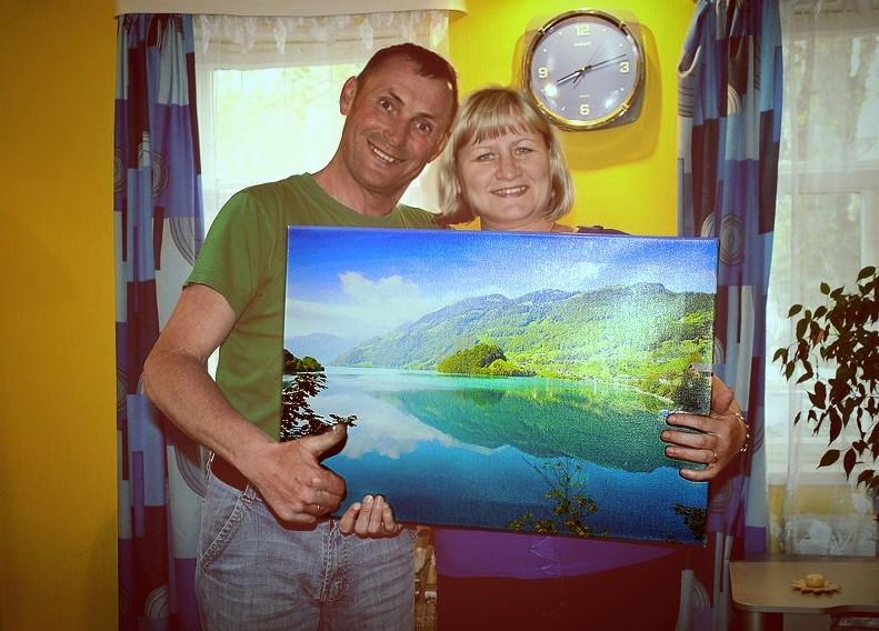 Картины и фотографии на холсте