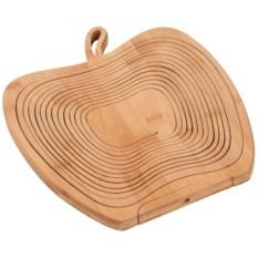 Фруктовница из бамбука Яблоко