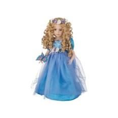 Фарфоровая кукла с мягконабивным туловищем, высота 40 см
