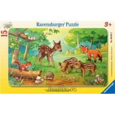 Пазл Животные в лесу Ravensburger
