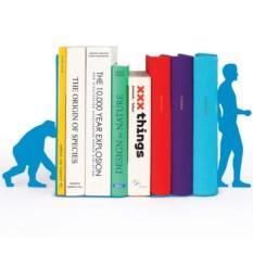 Голубой ограничитель для книг Evolution