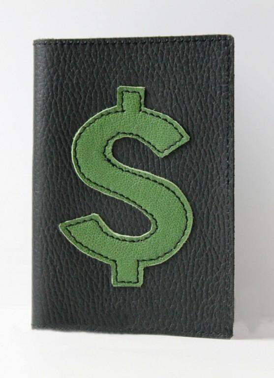 Обложка на паспорт Dollar