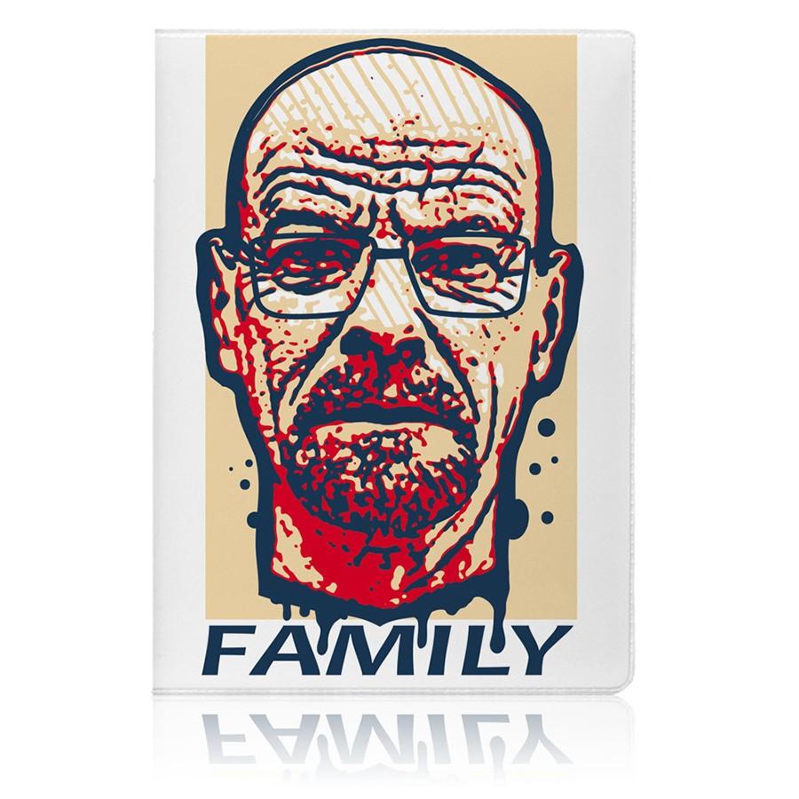 Обложка для паспорта Family