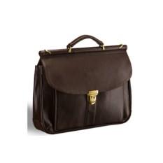 Классический коричневый портфель Brialdi Bergamo