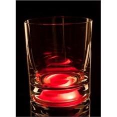 Красный светящийся бокал GlasShine