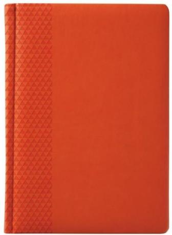 Недатированный оранжевый ежедневник Brand