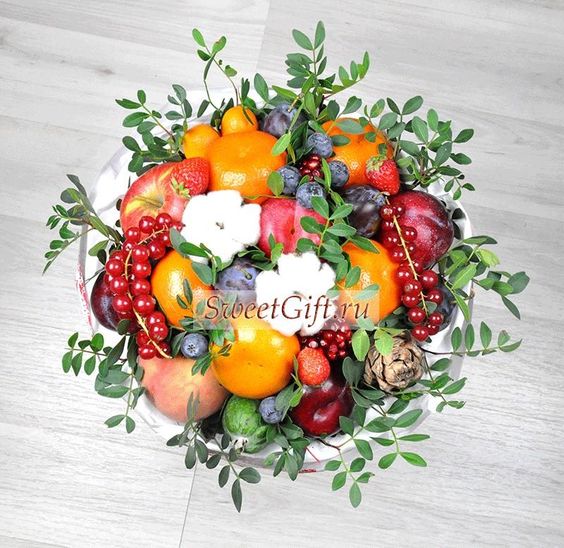 Букет из фруктов Осень в городе