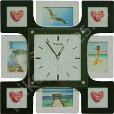 Настенные часы-фоторамка В кругу друзей