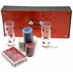 Алкогольная игра Пьяный покер на 100 фишек