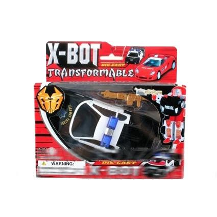 Робот- трансформер Power racing-bot