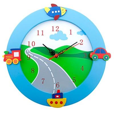 Детские настенные часы Средства передвижения