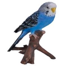 Навесная декоративная садовая фигурка Попугай на ветке