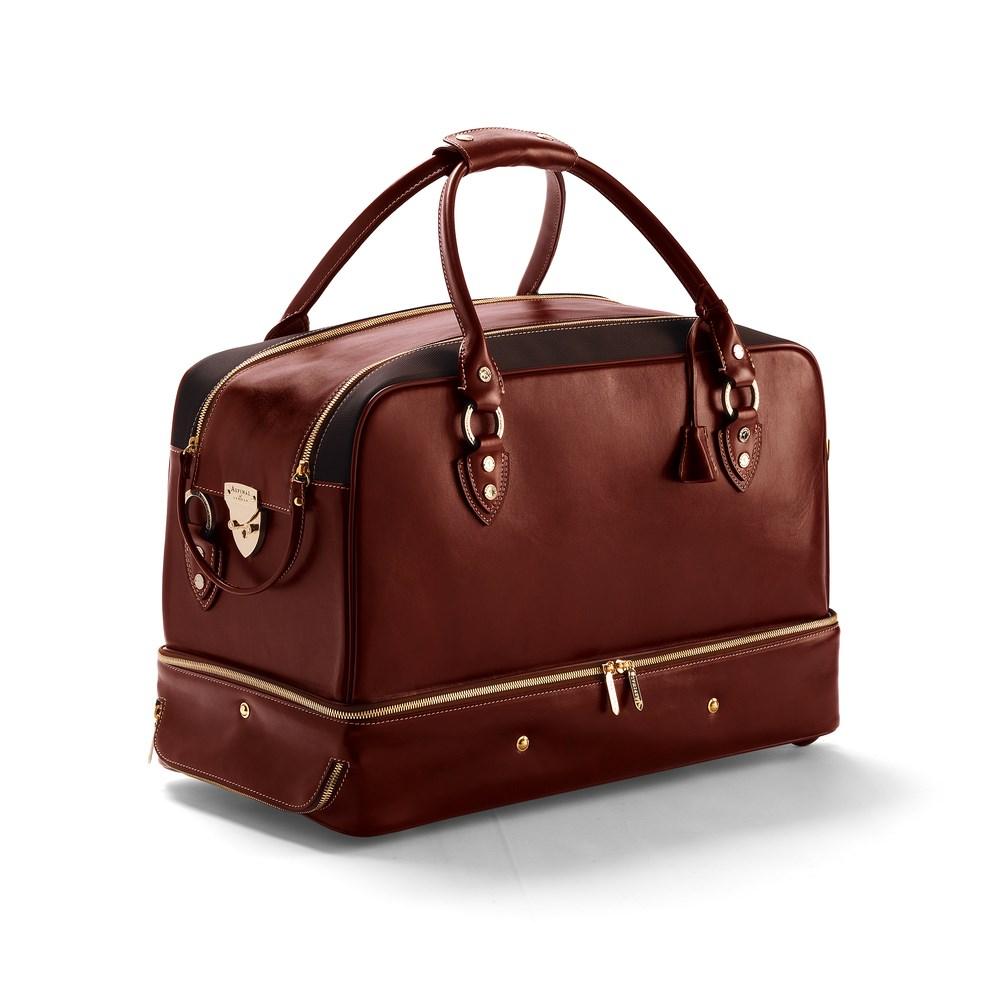 Дорогая кожаная сумка для путешествий Portofino