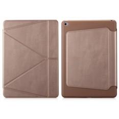 Кожаный чехол The Core Smart Case Gold для Apple iPad Air 2
