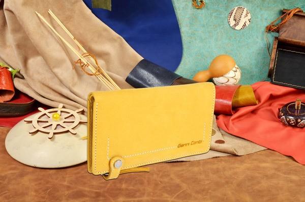 Желтый кошелек Gianni Conti