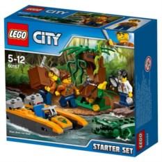 Конструктор Lego City Набор для начинающих. Джунгли