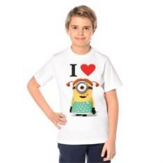 Детская футболка I love Minions