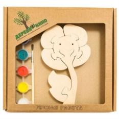 Развивающая игрушка Цветок с красками