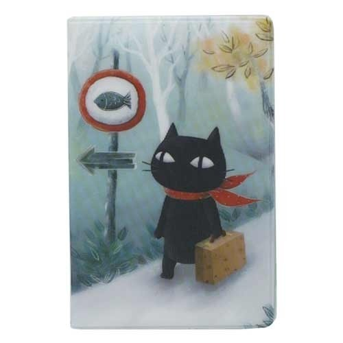 Держатель для карточек Muffler Cat on a Journey