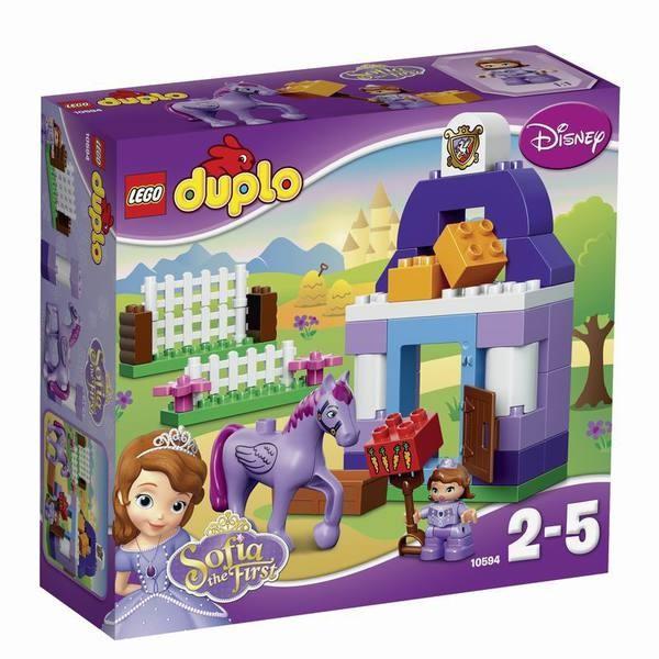 Конструктор LEGO DUPLO Прекрасная: королевская конюшня