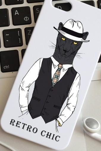 Чехол для iphone 5 с вашим текстом Пантера