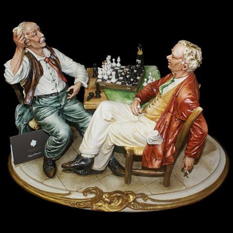 Статуэтка  Шахматисты