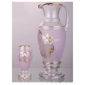 Набор для воды или сока «Амфора, сиреневый»