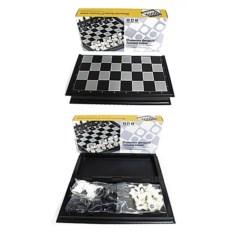 Магнитная настольная игра Шахматы, размер 25,5 х 12,5 см