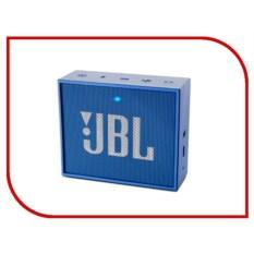 Компактная портативная колонка JBL Go Blue