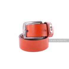 Женский ремень Calvin Klein (цвет - рыжий)