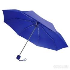 Складной синий зонт