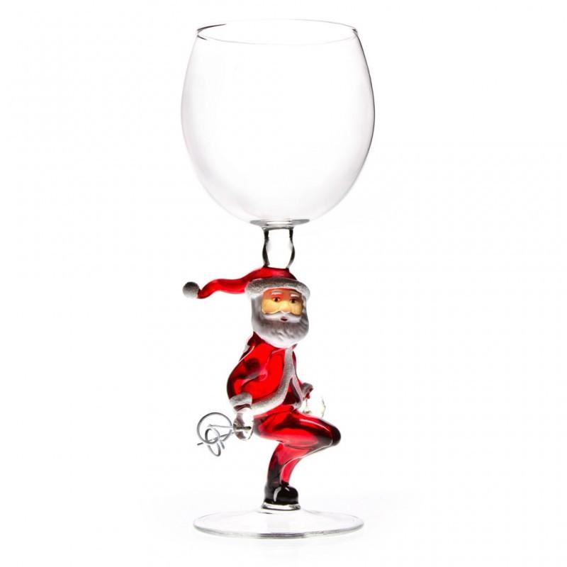 Бокал для вина Спортивный Дед Мороз