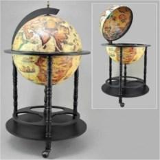 Бар в виде глобуса, размер 95x56x56 см