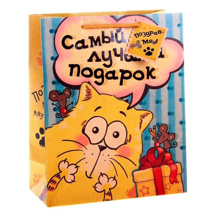Подарочный пакет Котэ