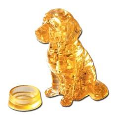Головоломка 3D Crystal Puzzle «Собака-Ретривер», желтая