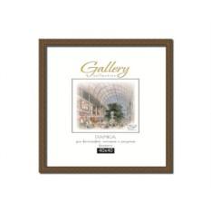 Квадратная коричневая фоторамка Gallery 30х30